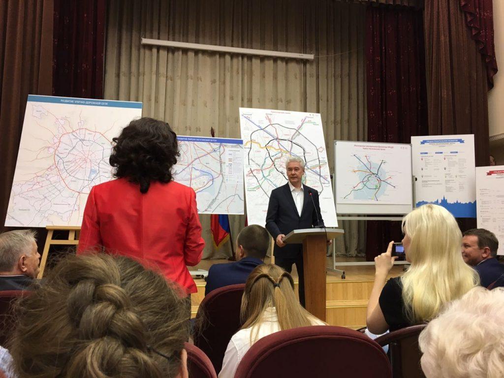 Сергей Собянин: Меня долго убеждали, чтобы я не занимался транспортной проблемой города. Фото: Анна Быкова