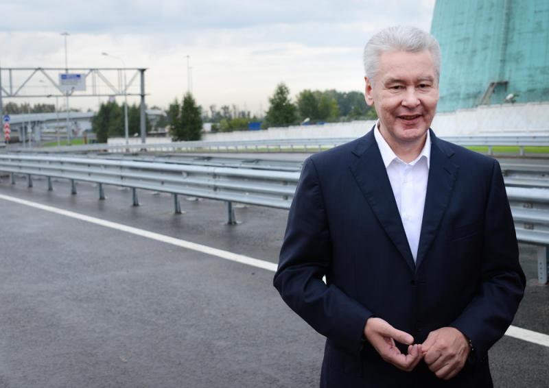 Собянин открыл движение по Боровскому шоссе после окончания строительства метро