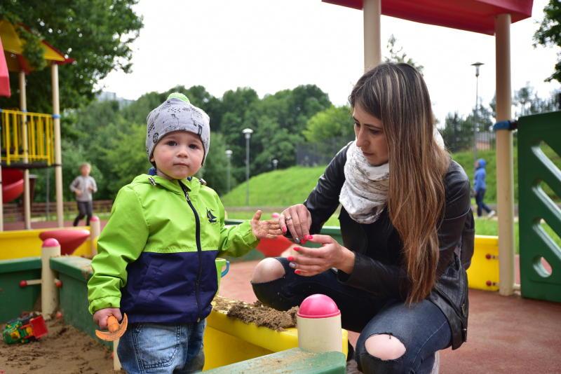 Детские площадки обустроят в Чертанове Южном. Фото: Пелагия Замятина, «Вечерняя Москва»