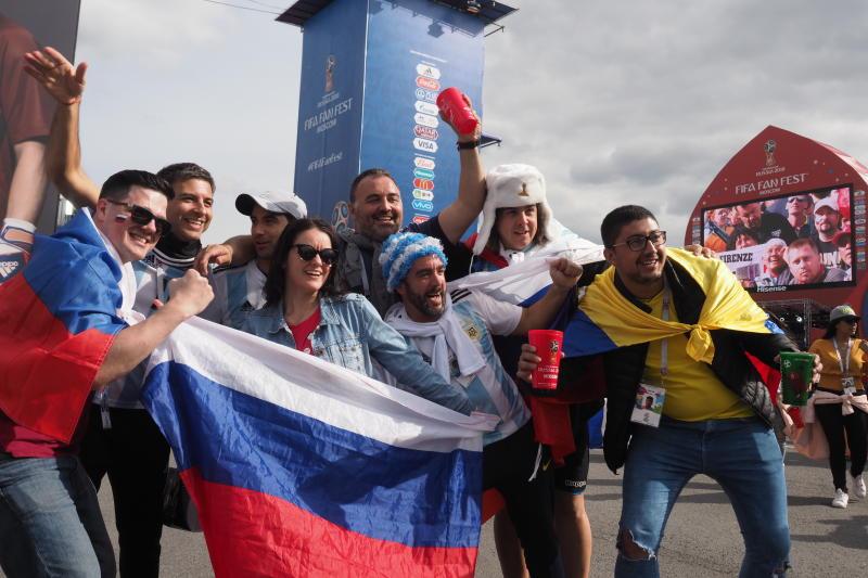 Болельщиков призвали смотреть матч Россия – Уругвай вне фан-зоны
