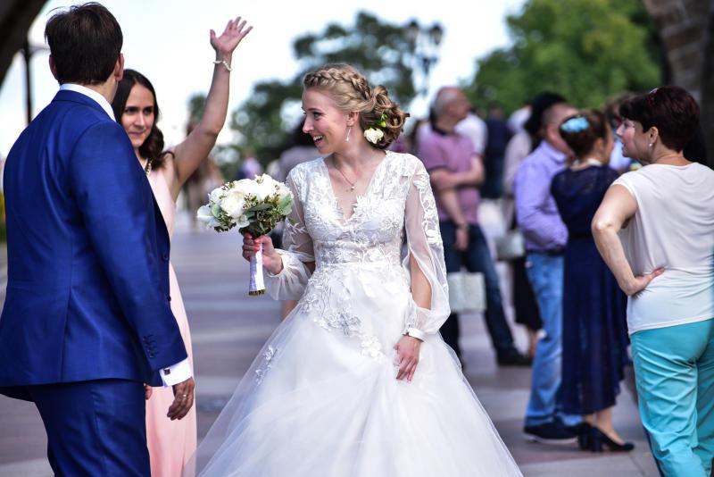 Большую свадьбу отпразднуют в «Царицыне»