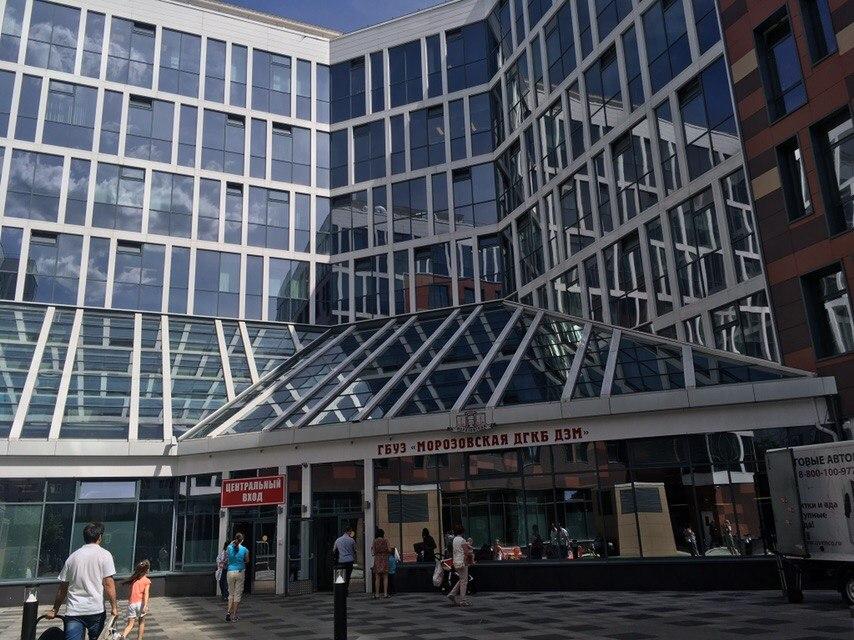 Новый корпус Морозовской больницы открылся в столице