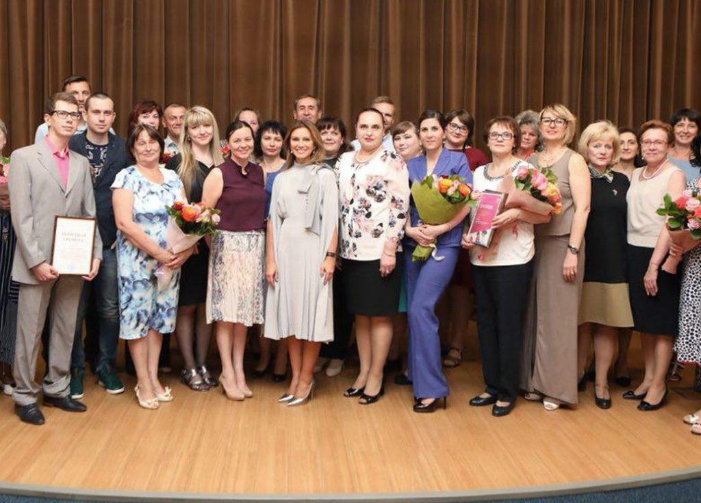 Сотрудница поликлиники №145 получила звание лучшей детской участковой медсестры города