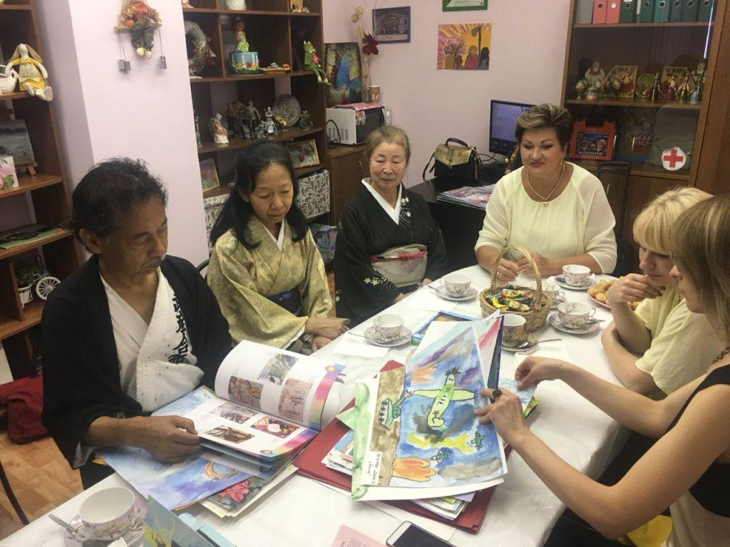 Делегация японских художников посетила «Орехово»