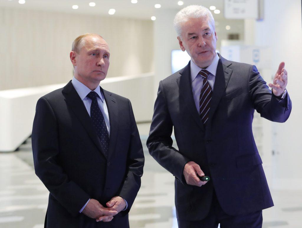 Владимир Путин: Москва задает стандарты развития