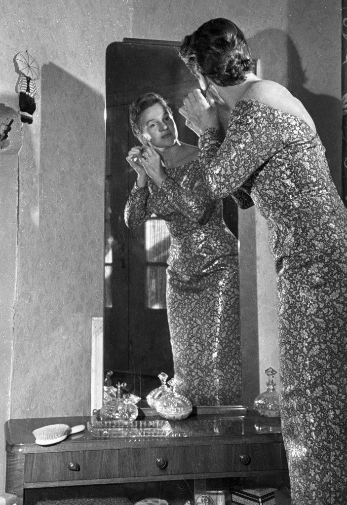 1 июня 1957 года. Людмила Лядова. Фото: Галина Кмит/ РИА Новости