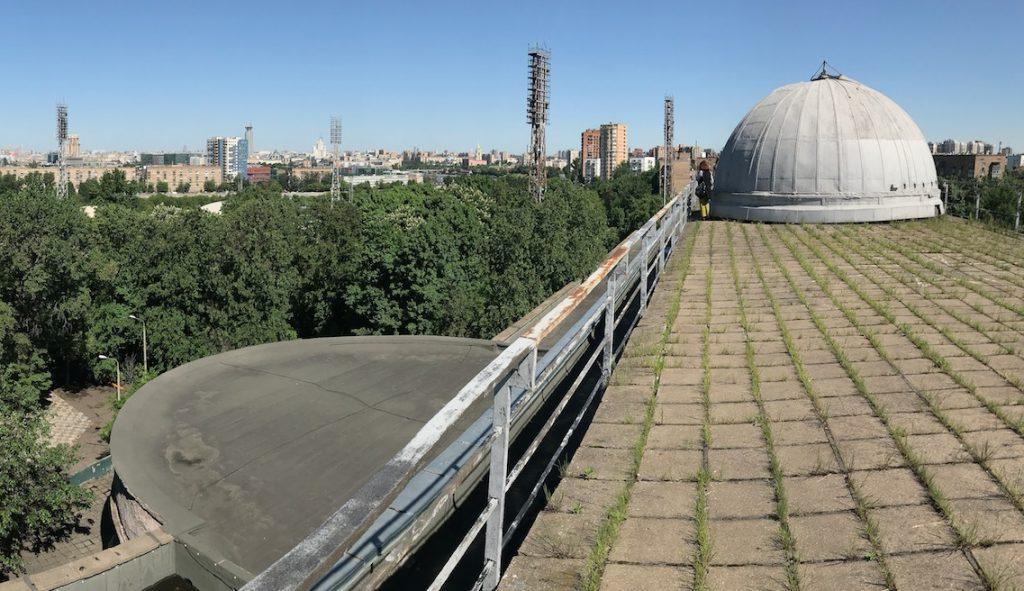 Город будущего: Московский пленэр пройдет на крыше ЗИЛа. Фото: официальная страница Культурного центра «ЗИЛ» в социальных сетях