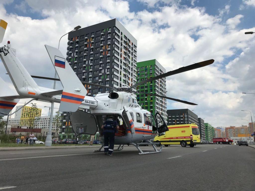 Санитарные вертолеты эвакуировали более 60 человек за время ЧМ-2018