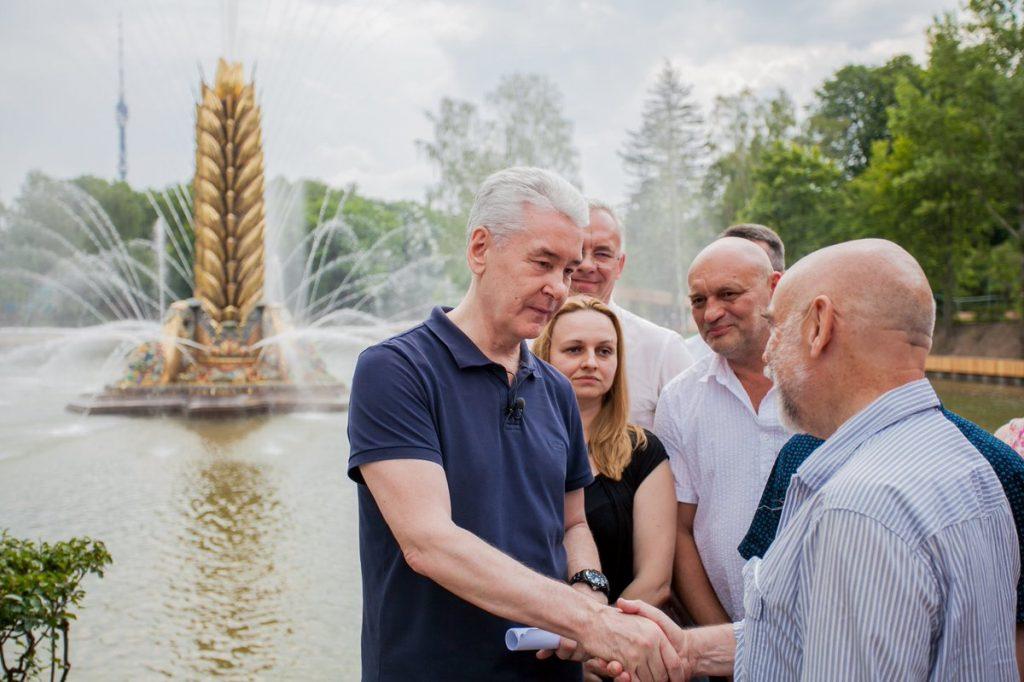 Мэр Москвы рассказал о возрождении былого величия ВДНХ