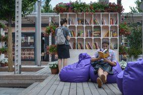 Самый крупный книжный фестиваль стартовал на Новом Арбате.Фото: архив, «Вечерняя Москва»
