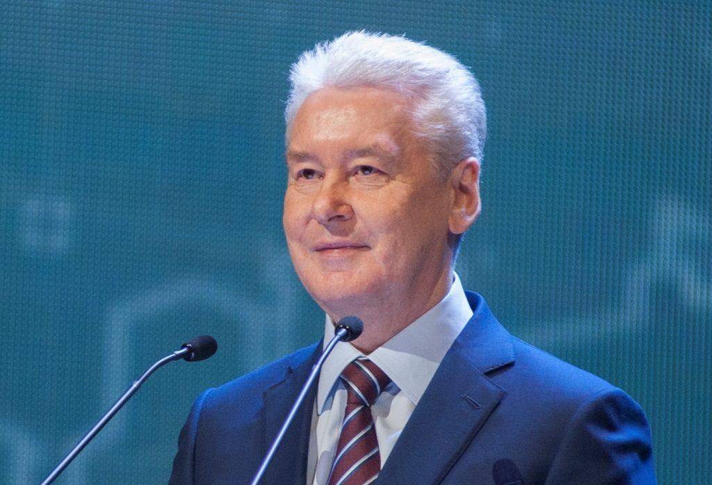 Мэр Москвы открыл разворотный тоннель на Калужском шоссе
