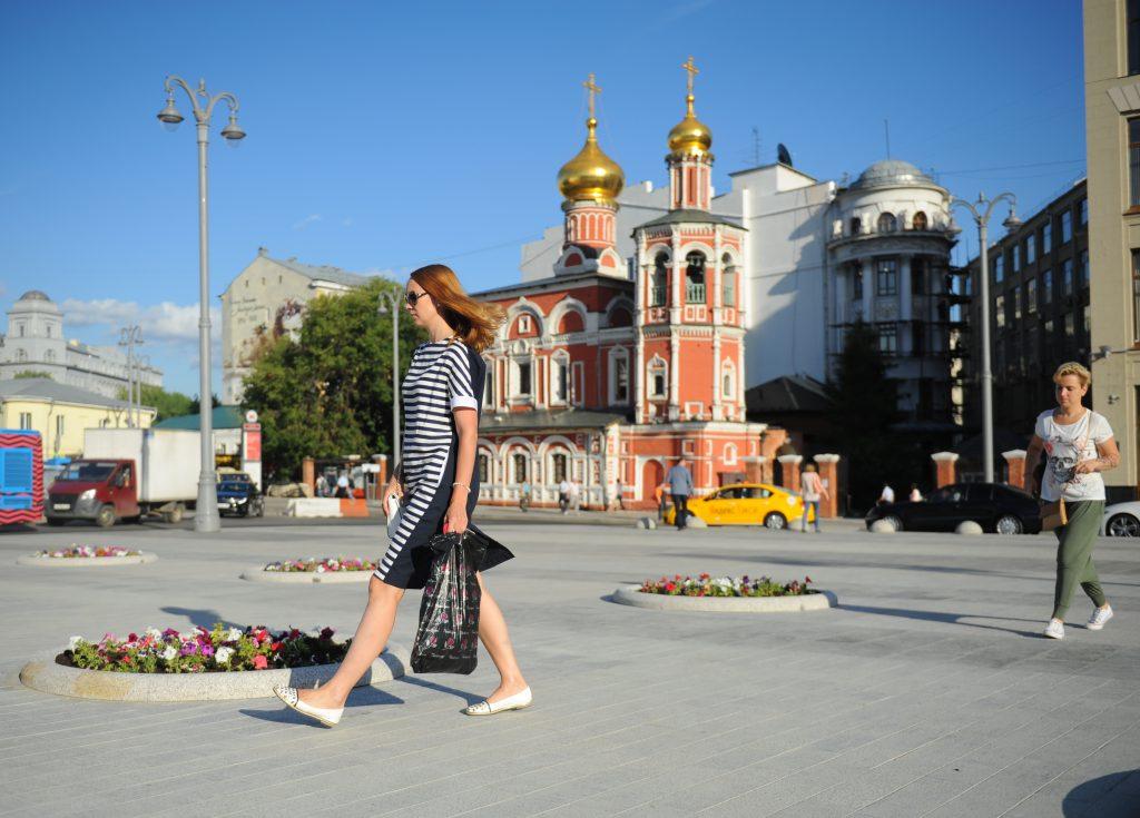 Жара в Москве отступит со среды