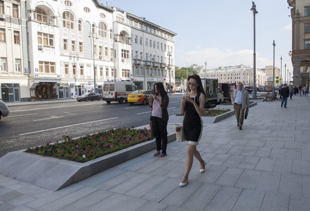 Центральные улицы Москвы ограничат из-за закрытия ЧМ.Фото: архив, «Вечерняя Москва»