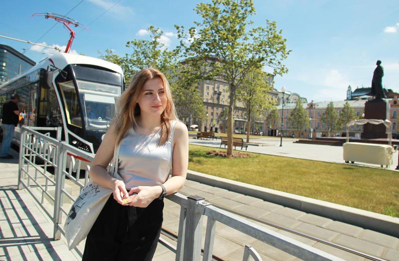 Первые беспилотные трамваи запустят в Москве