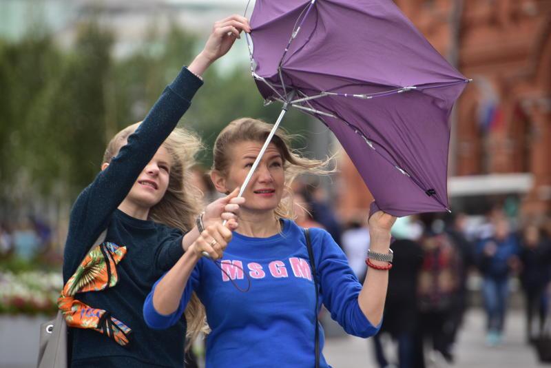 Грозы со шквалистым ветром накроют Москву после полудня