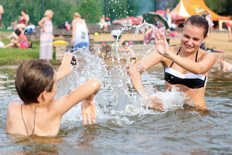 Температура воды в подмосковных реках достигла 24 градусов