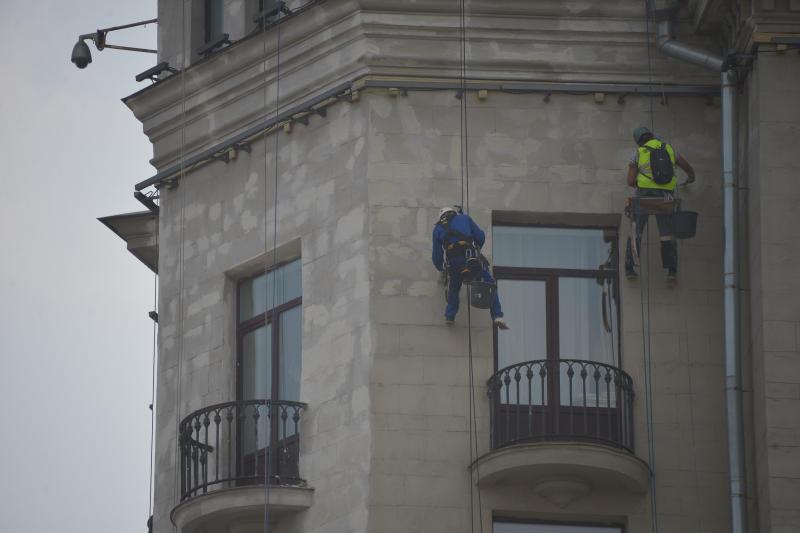 Фасады десяти жилых домов Бирюлева Западного отремонтируют