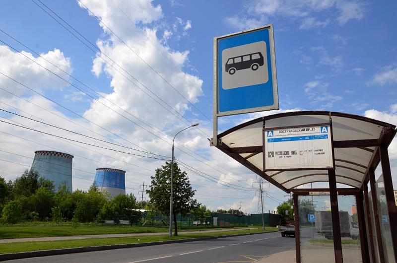 Новая остановка появится рядом с поликлиникой №214. Фото: Анна Быкова, «Вечерняя Москва»