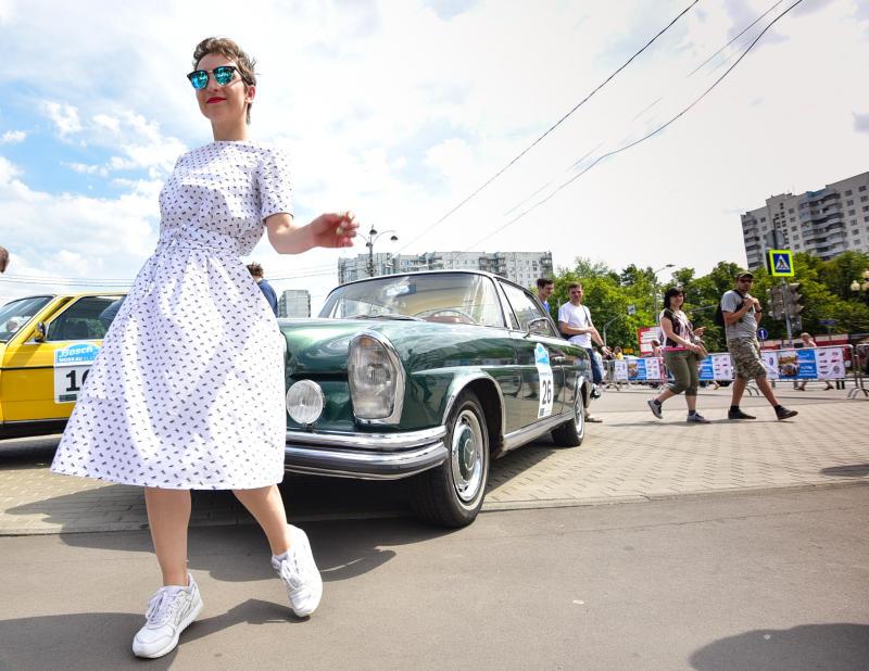 Жигули и Кадиллаки: фестиваль классических автомобилей пройдет в округе. Фото: Пелагия Замятина, «Вечерняя Москва»
