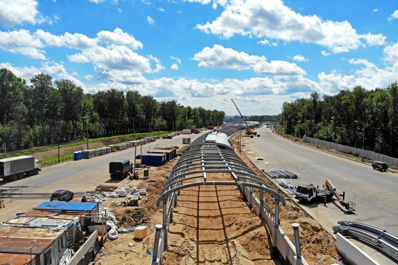 Строительство дорог на территории ЗИЛа почти завершено. Фото: пресс-служба Комплекса градостроительной политики и строительства города Москвы