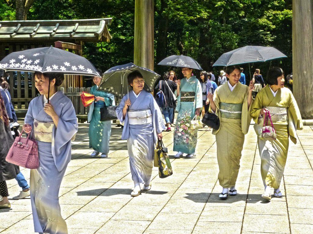 Температура в Японии достигла рекордной отметки