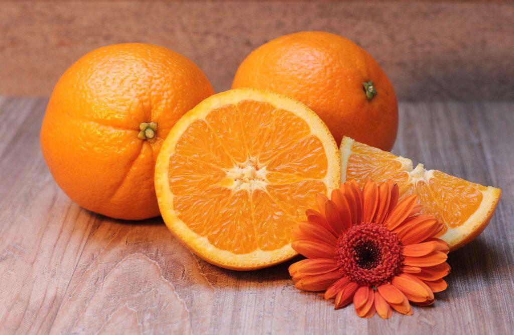 Апельсины способны улучшить зрение