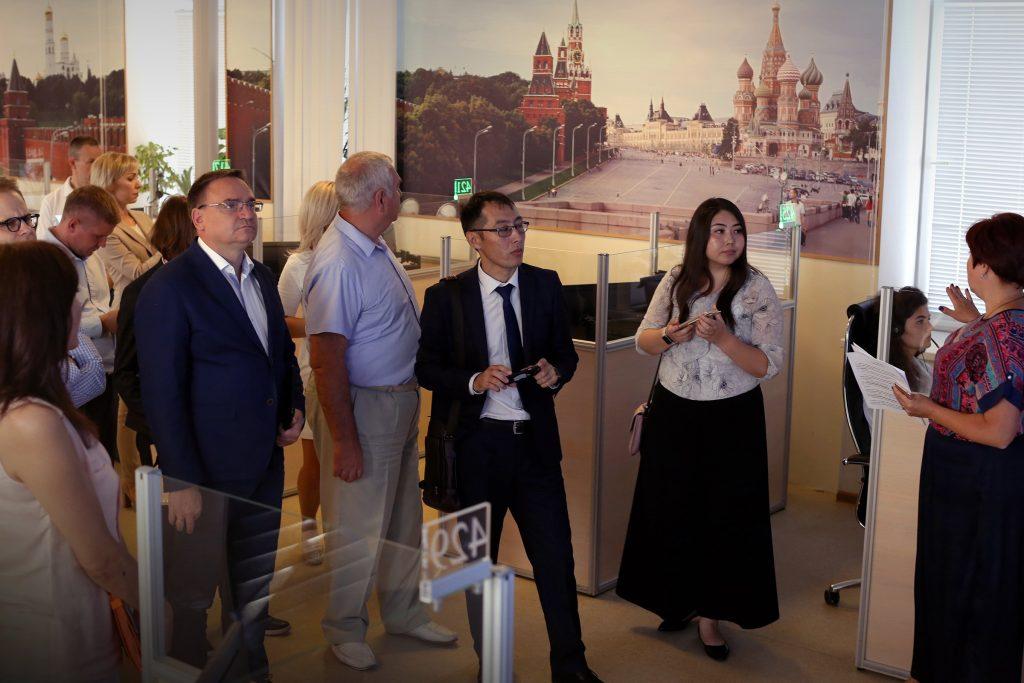 Представители Акимата города Астаны ознакомились с особенностями столичной Системы-112