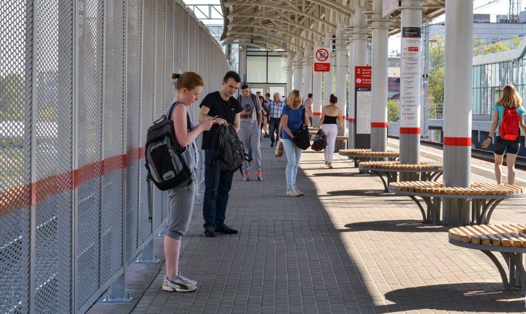 Пешеходную дорожку открыли между станцией МЦК Белокаменная и корпусами РГСУ