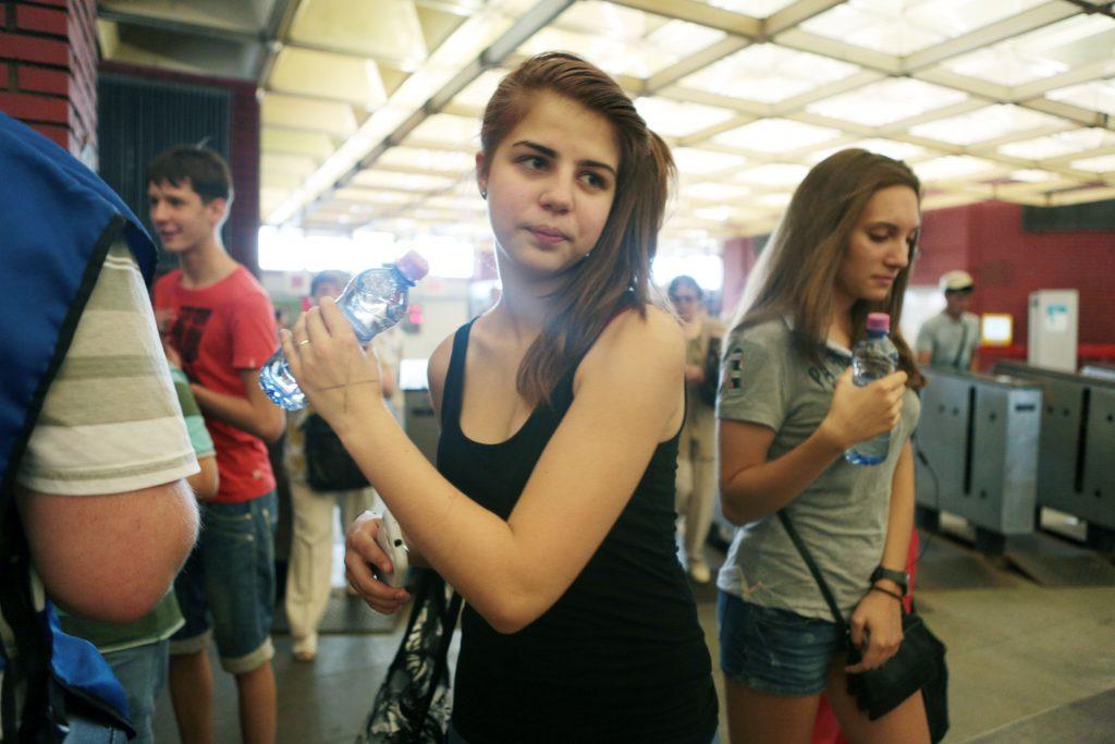 Воду можно получить на восьми станциях МЦК. Фото: Анна Иванцова