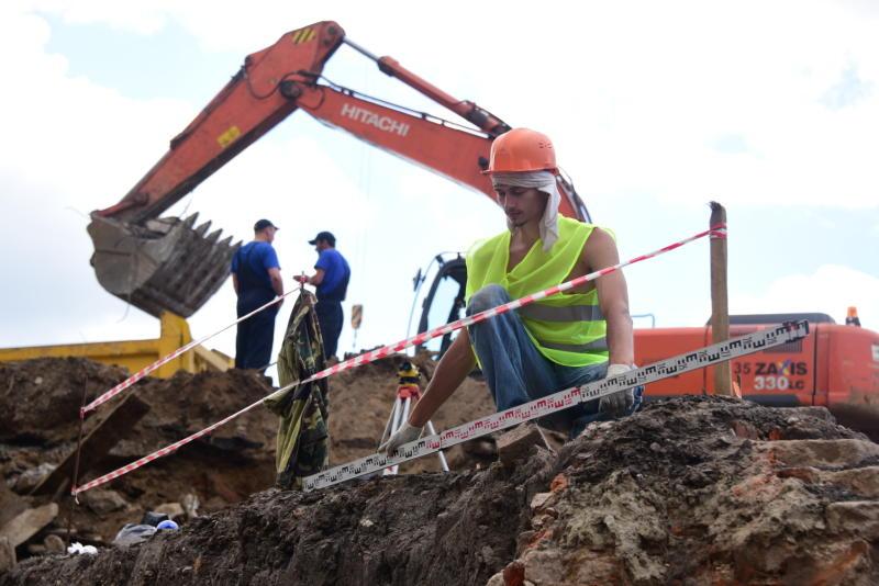Древние археологические находки обнаружили в Москве