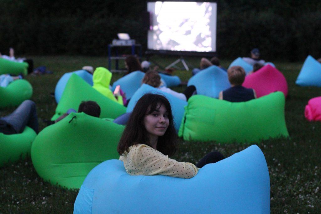 Кинотеатры под открытым небом появились в двух парках округа