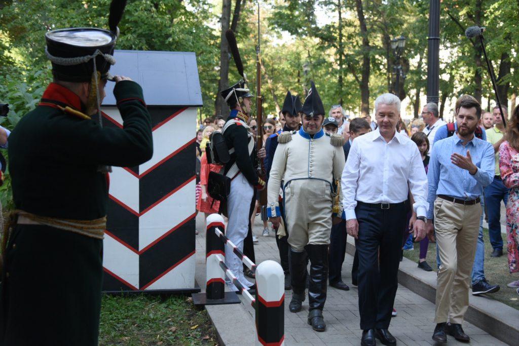 Мэр Москвы Сергей Собянин сообщил о статистике московского исторического фестиваля