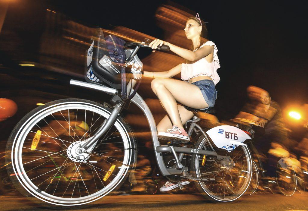 Велопрокат Москвы набрал рекордную популярность за три месяца