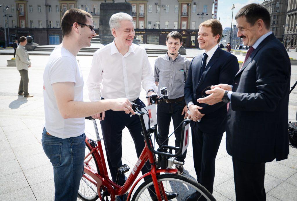 Велопрокат в Москве побил рекорд по числу поездок