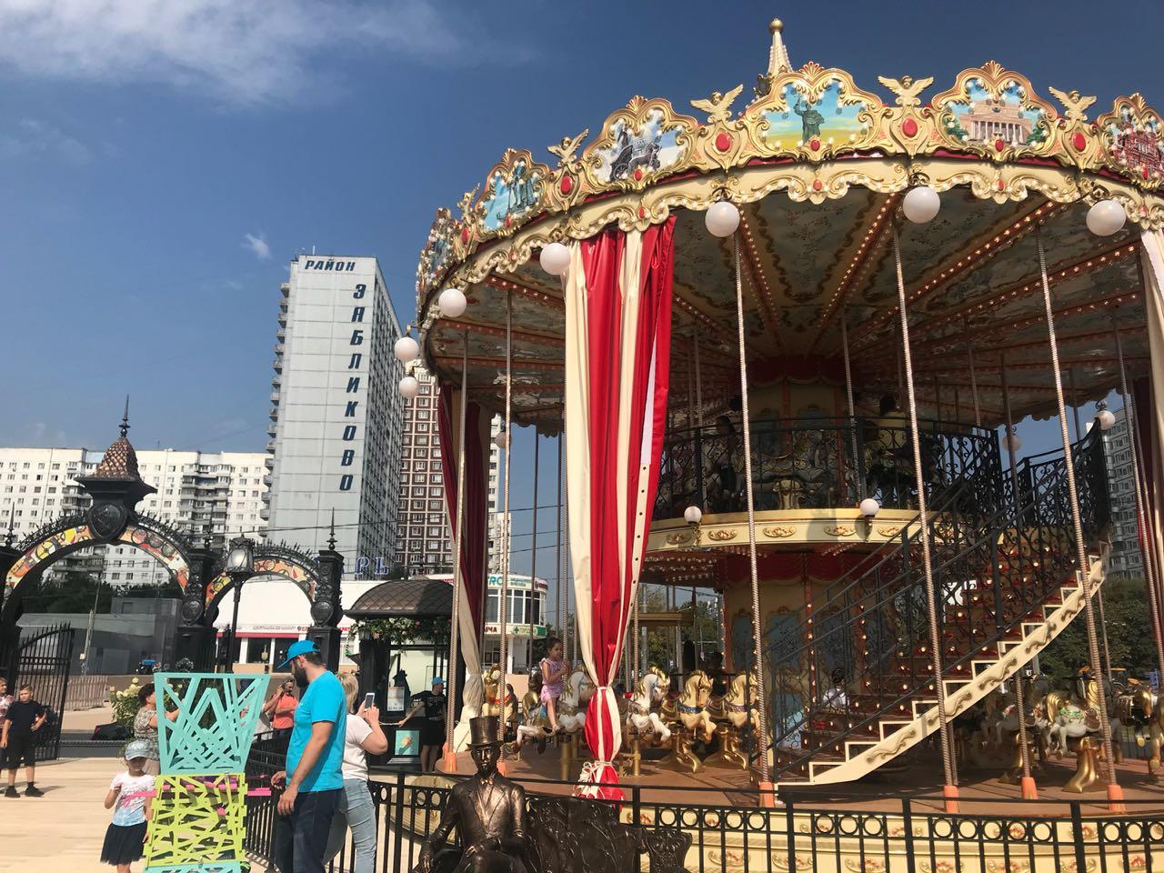 Фестивальную площадку открыли в Зябликове