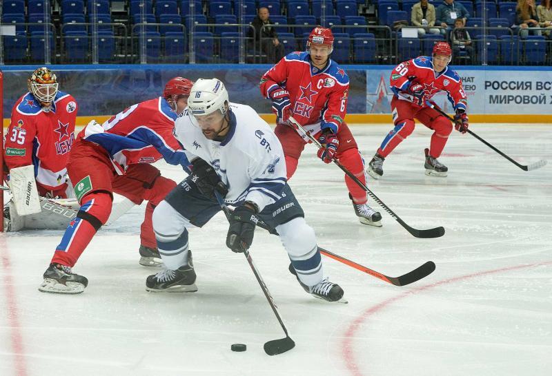 Кубок мэра Москвы по хоккею пройдет в «Парке Легенд». Фото: Александр Казаков, «Вечерняя Москва»