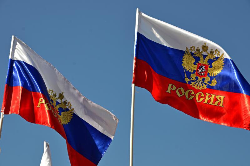 Ленты в цветах российского триколора раздадут у «Домодедовской»