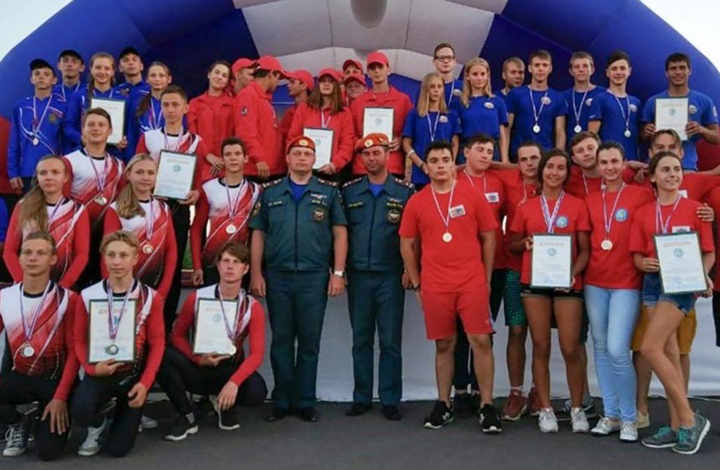 Команда юных пожарных из Южного округа столицы вошла в пятерку лучших по России