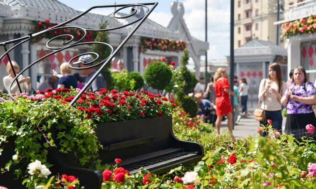Неменее 540 тыс. цветов высадят москвичи вДень города