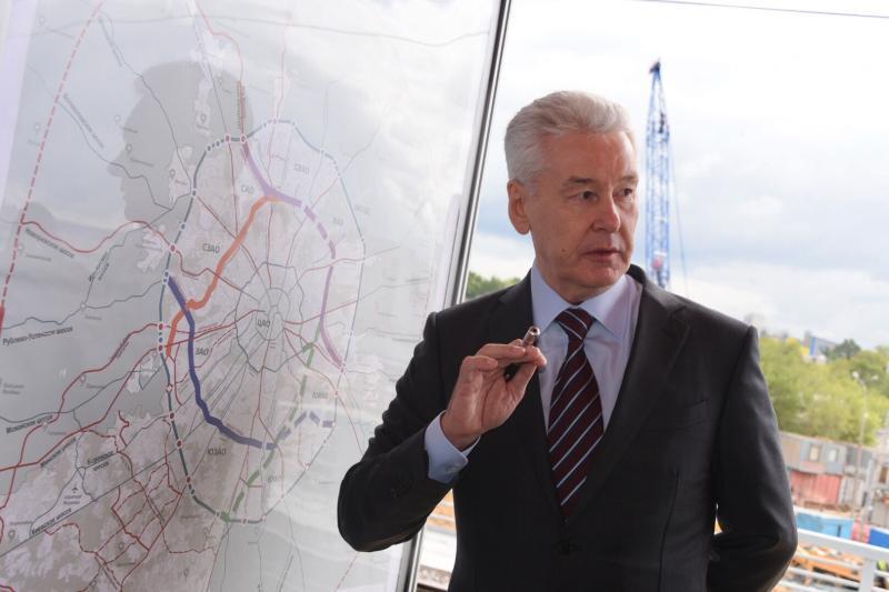 Создание комфортной среды во всех районах вошло в предвыборную программу Собянина