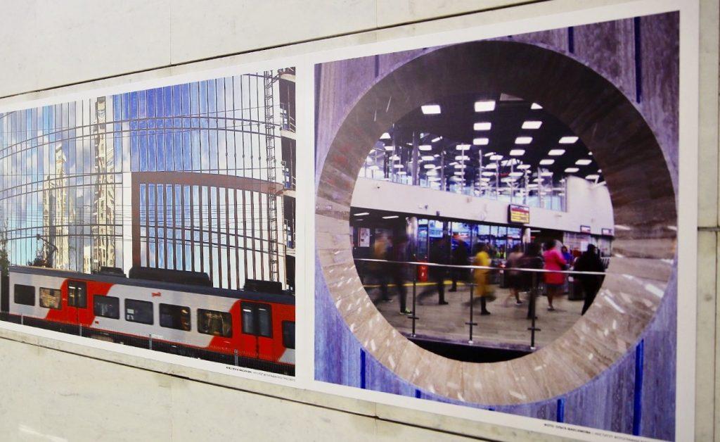 Фотовыставка ко дню рождения МЦК открылась на станции «Площадь Гагарина»