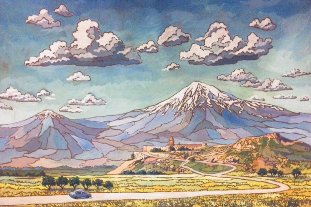 Окунуться в краски Армении приглашают в галерею «На Каширке». Фото: официальный сайт Объединения «Выставочные залы Москвы»