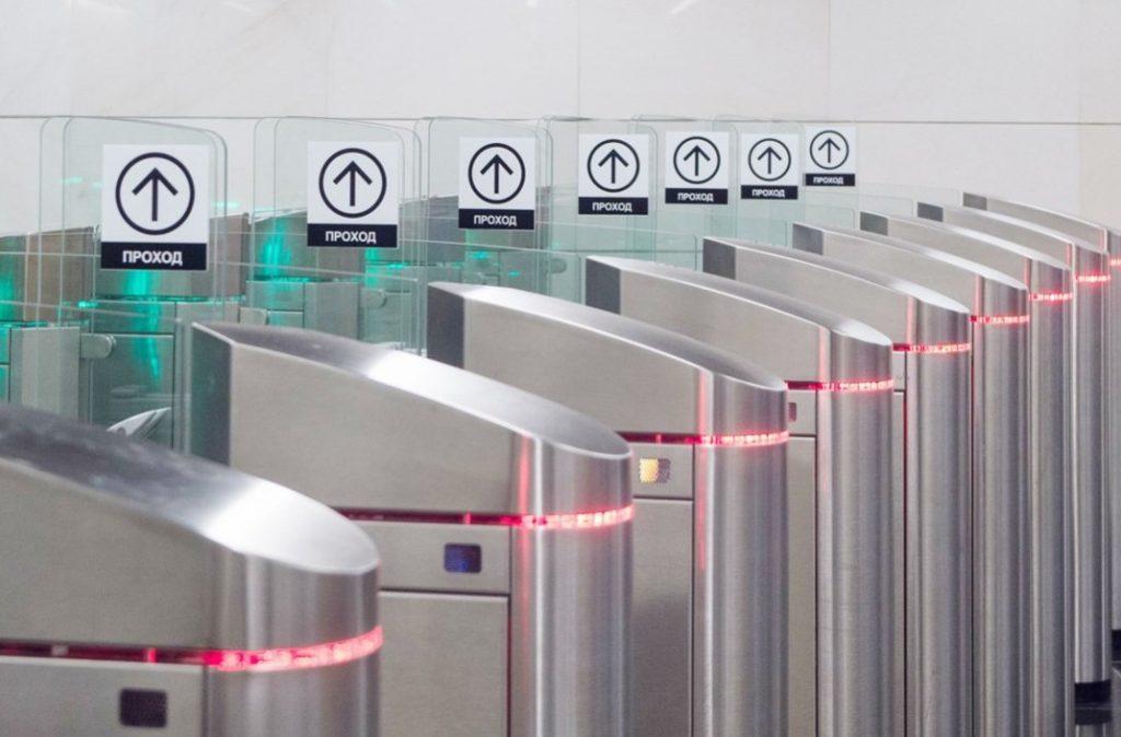 Обновили турникеты в Московском метро. Фото: официальный сайт мэра Москвы