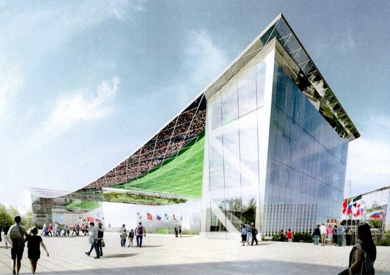 Возле стадиона «Торпедо» построят спорткомплекс с футбольным манежем
