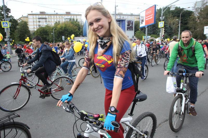 Осенний велопарад перекроет движение на улицах Москвы в воскресенье