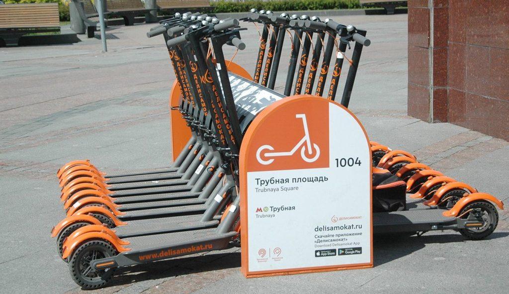 Москва насчитала более 90 тысяч поездок на электросамокатах