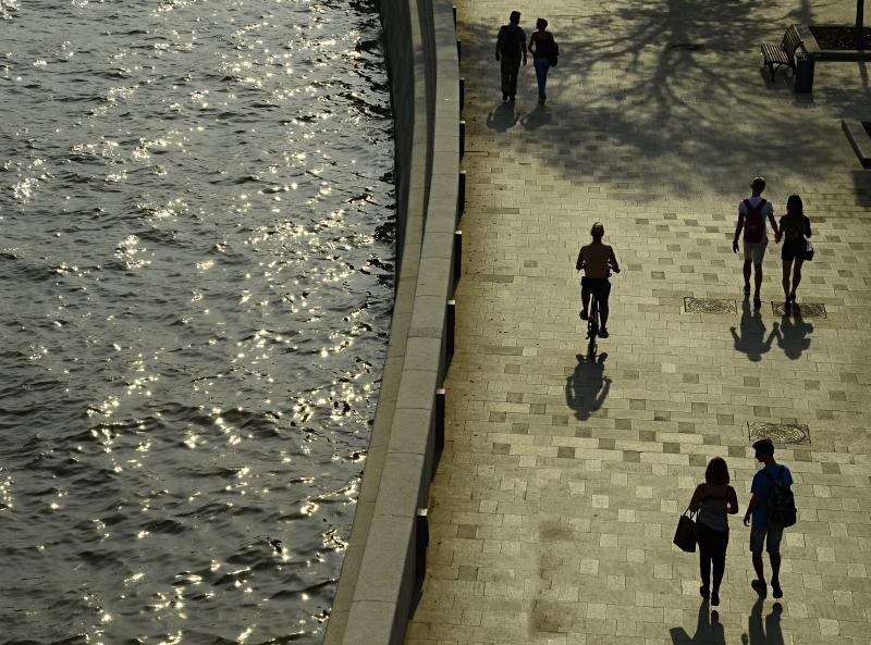 Набережные Москвы-реки ждет масштабное благоустройство. Фото: Анна Быкова