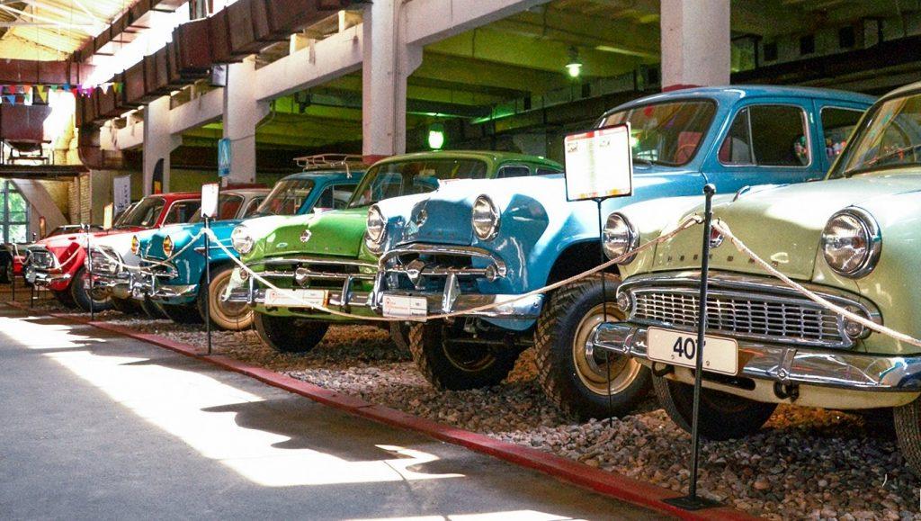 Музей «Московский транспорт» пригласил на выставку винтажных машин