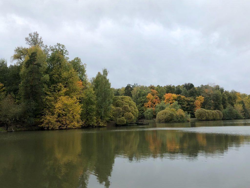 Каскад из трех прудов вблизи Царицынских оранжерей. Фото: Анастасия Маслова