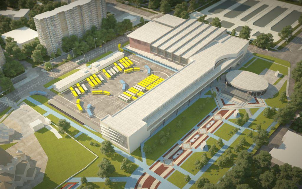 Перехватывающий паркинг появится на транспортно-пересадочном узле «Алма-Атинская». Фото: Комплекс градостроительной политики и строительства города Москвы